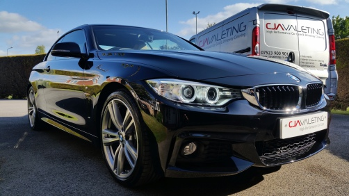 BMW 420d protected by Gtechniq